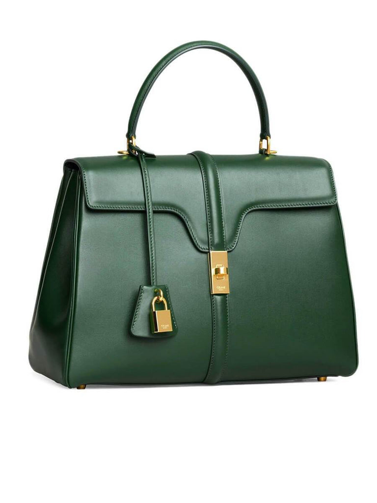 Medium 16 Bag in Malachite Satinated Calfskin