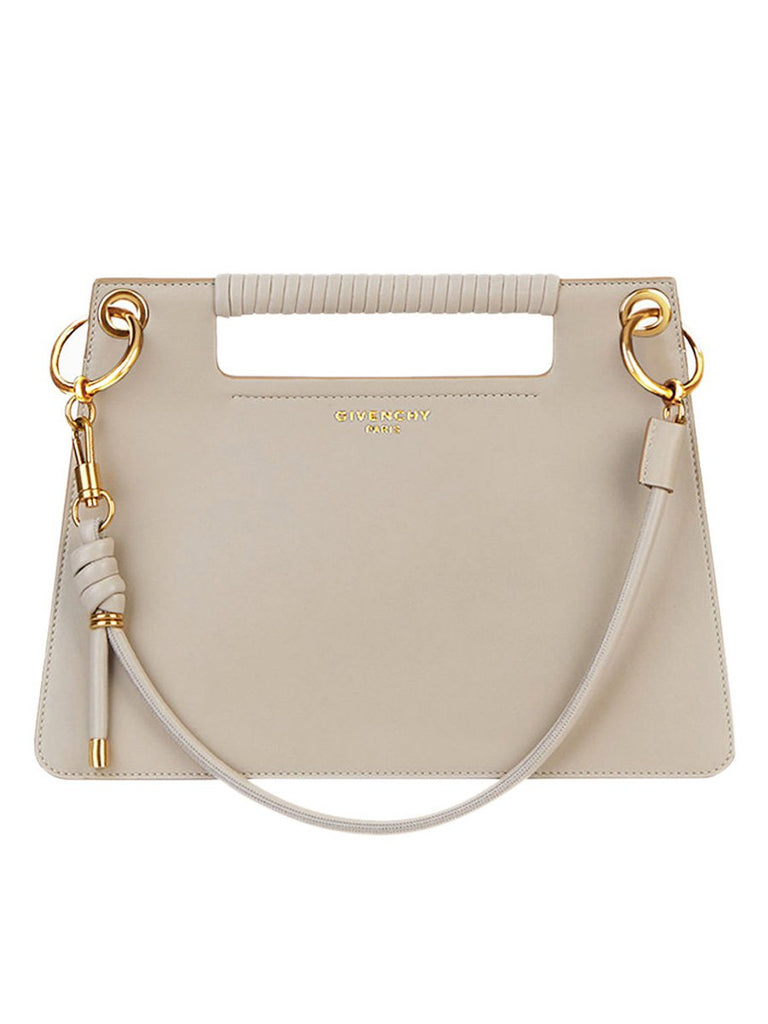 Medium Whip Natural Smooth Leather Bag