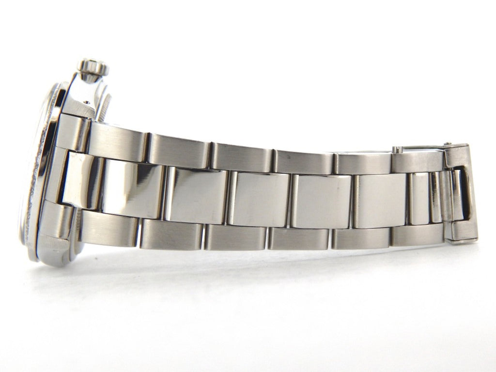 Pre Owned Mens Rolex Stainless Steel Datejust White MOP Diamond 16030
