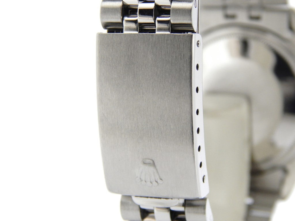 Pre Owned Mens Rolex Stainless Steel Datejust with a Silver Dial 16030