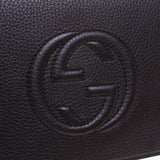 Gucci 336753 Black Soho Leather Clutch