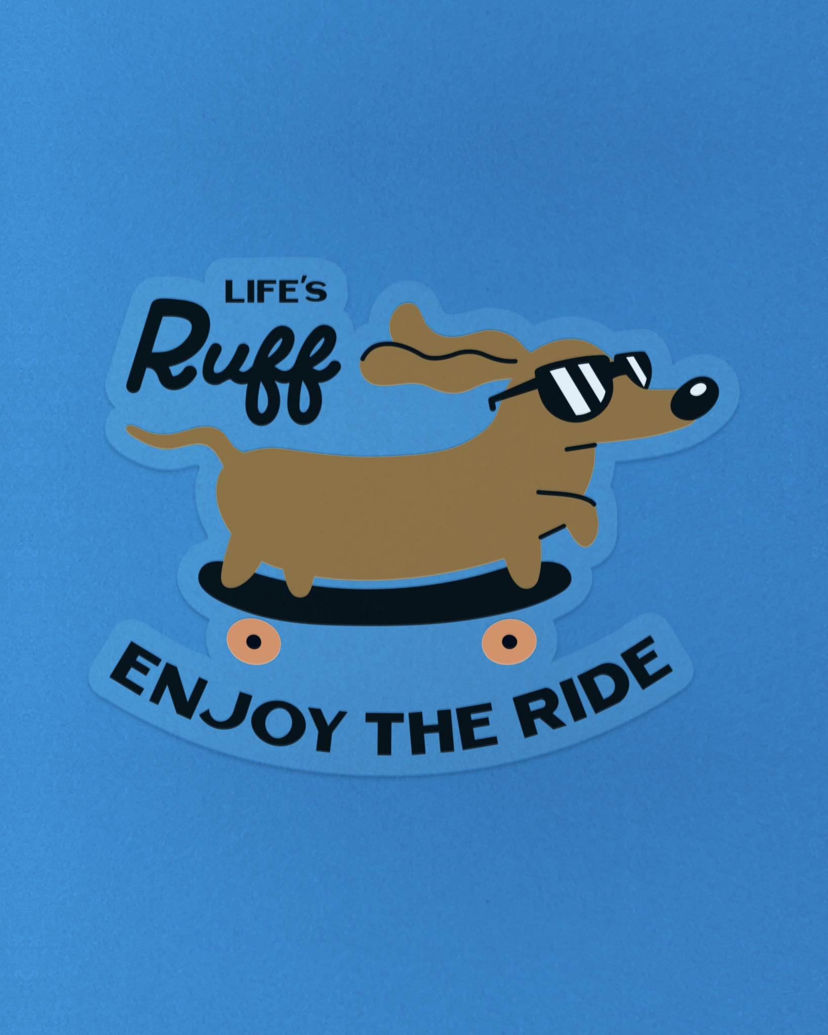 Enjoy the Ride Sticker