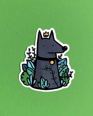 Garden Queen Sticker