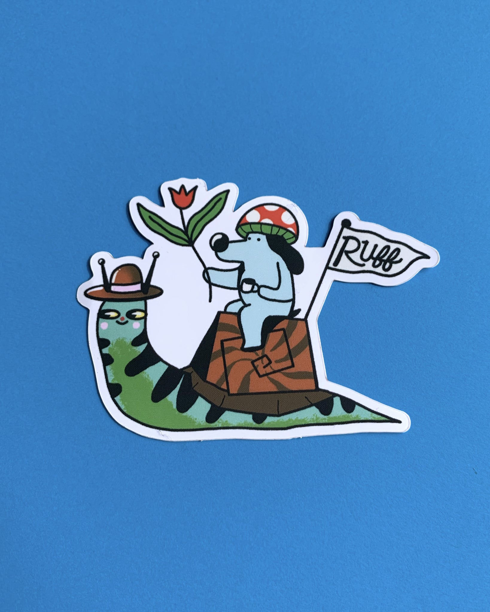 Snail Sticker