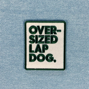 Oversized Lapdog - Dog Merit Badge