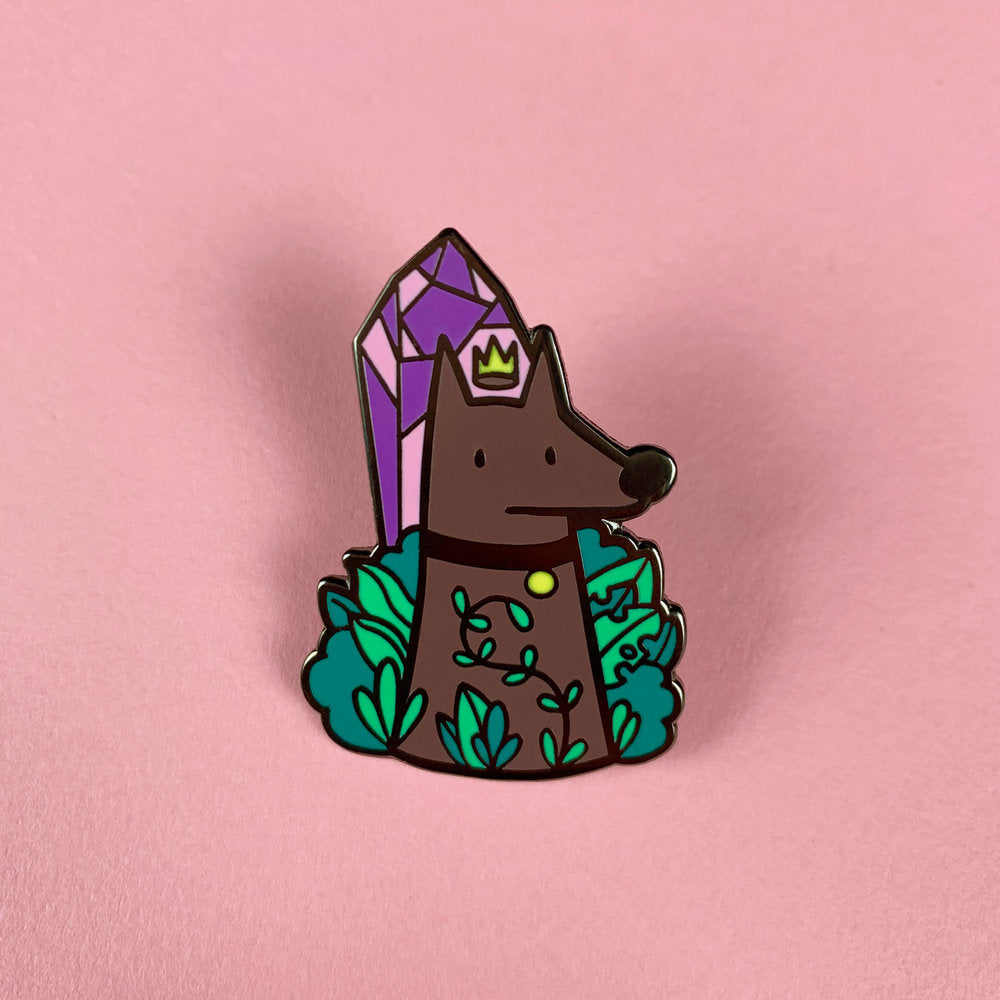 Queen Enamel Pin