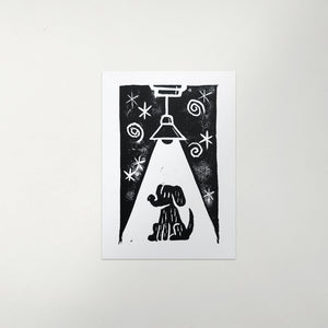 Dog Light Print