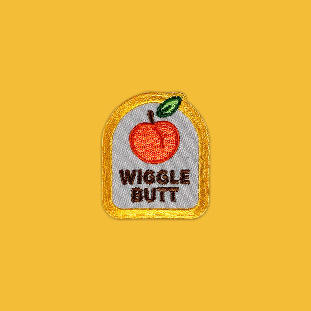 Wiggle Butt - Dog Merit Badge