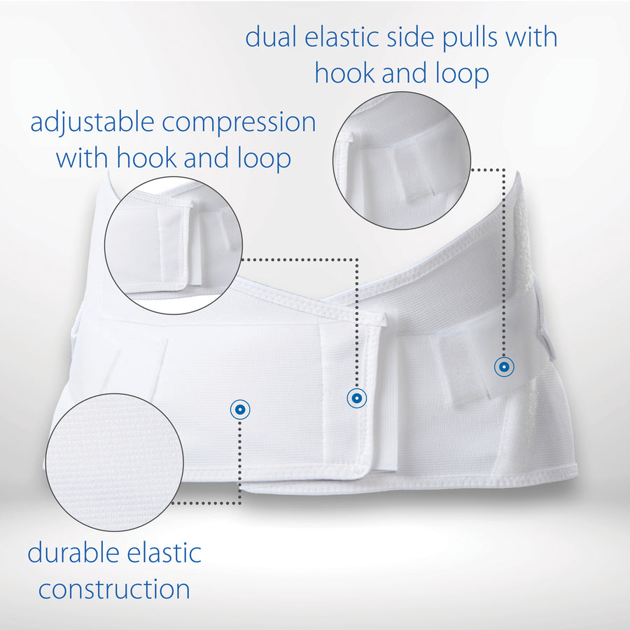 Dual Pull Elastic Crisscross Back Support