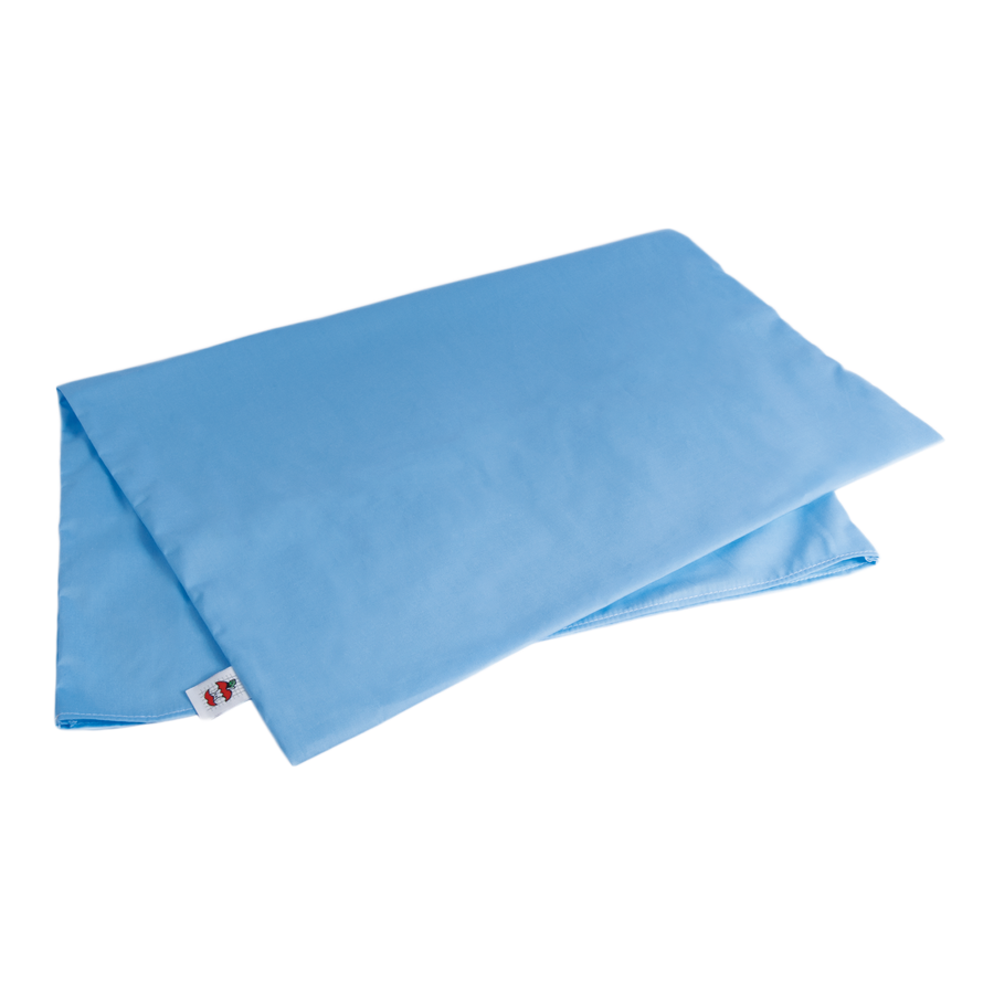 Blue Slip On Pillow Case - Standard Size for Tri-Core