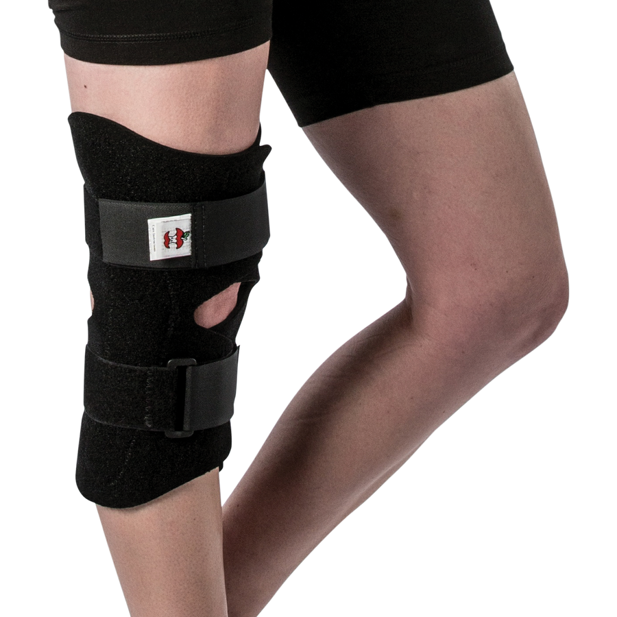 Swede-O Front Close Knee Brace with Hinges