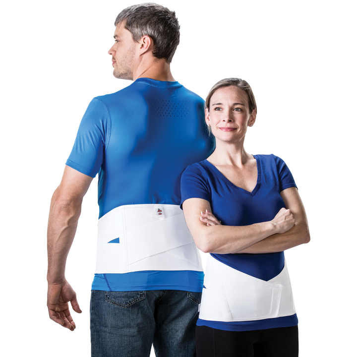 Elastic Crisscross Lower Back Support