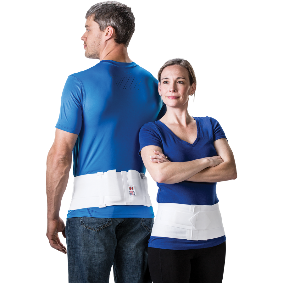 Triple Action Sacroiliac Back Support with Pads