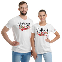 Load image into Gallery viewer, Armenian Pomegranate White  T-Shirts