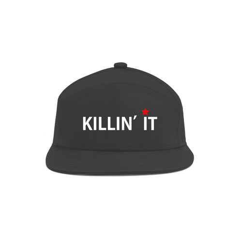 Killin it Unisex Black Cap