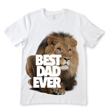 Load image into Gallery viewer, Best Dad Ever White T-Shirts