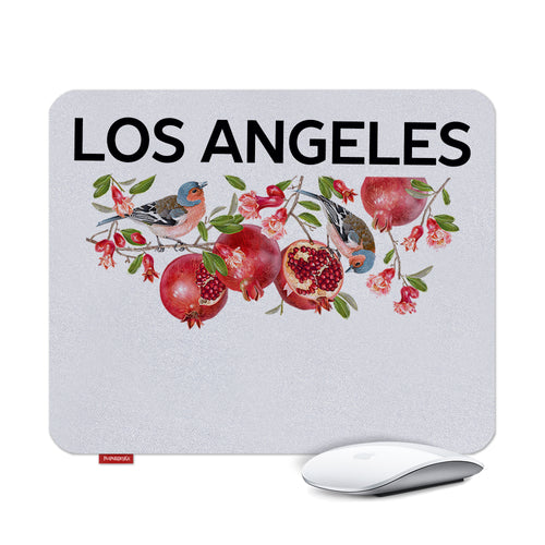 Los Angeles Pomegranate Mouse Pads