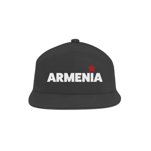 Stylish  Armenia  Unisex Black Cap