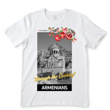 Load image into Gallery viewer, Through The Century Armenians White T-Shirts