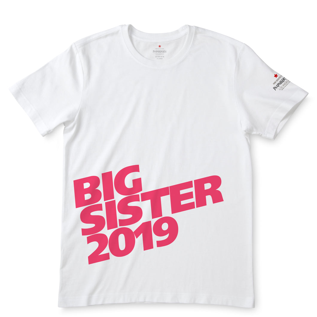 Big Sister 2019 White T-Shirts