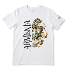 Load image into Gallery viewer, Armenia Camo Coat of Arm White T-Shirts