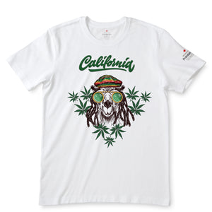 Californian Lifestyle  White T-Shirts