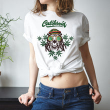 Load image into Gallery viewer, Californian Lifestyle  White T-Shirts