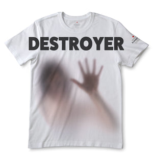 Destroy White T-Shirts