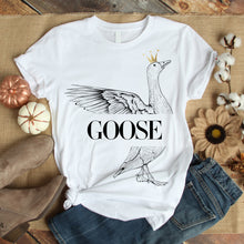 Load image into Gallery viewer, GooSe  White  T-Shirts