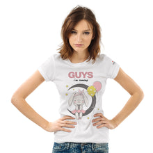 Load image into Gallery viewer, It's a Girl, Guys I'm Coming White T-Shirts