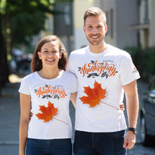 Load image into Gallery viewer, Happy Thanksgiving Day White T-Shirts
