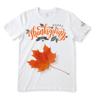 Happy Thanksgiving Day White T-Shirts