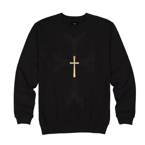 Armenian Cross Black Sweatshirts