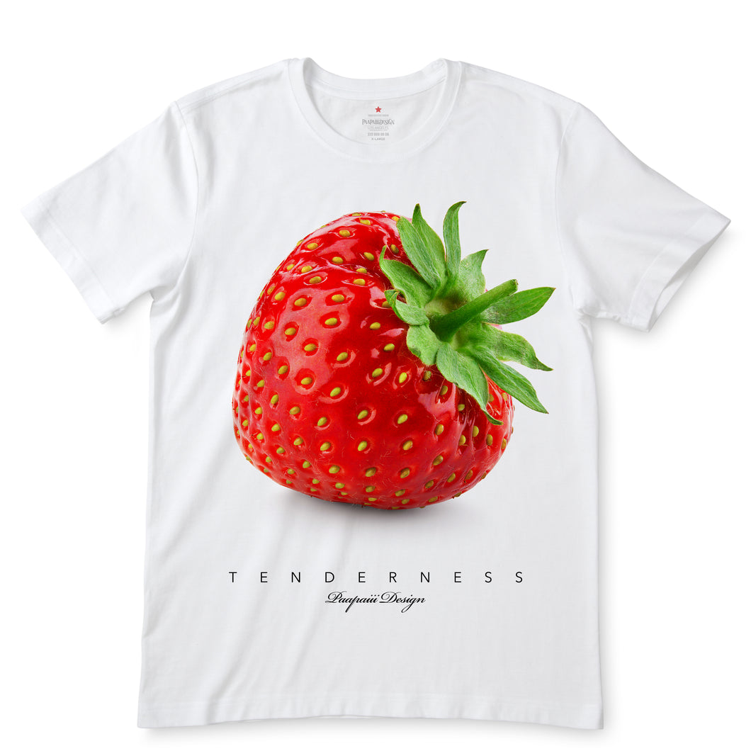 Juicy Strawberry White T-Shirts