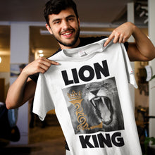 Load image into Gallery viewer, Lion King  White T-Shirts