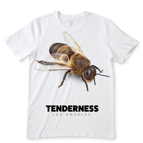 Tenderness Bee White T-Shirts