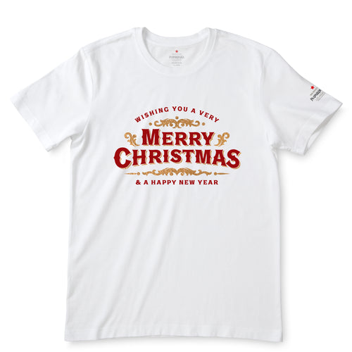 Merry Christmas & A Happy New Year White T-Shirts