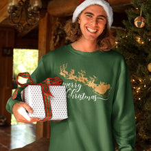 Load image into Gallery viewer, Golden Christmas Sweatshirts