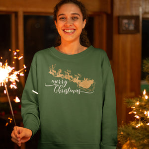 Golden Christmas Sweatshirts