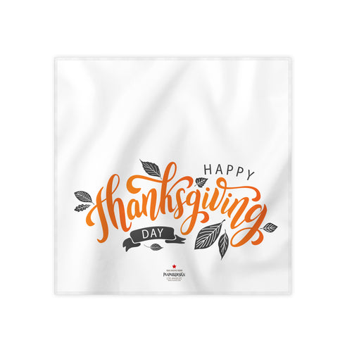 Happy Thanksgiving Cloth Dinner Napkin, 17''x17''