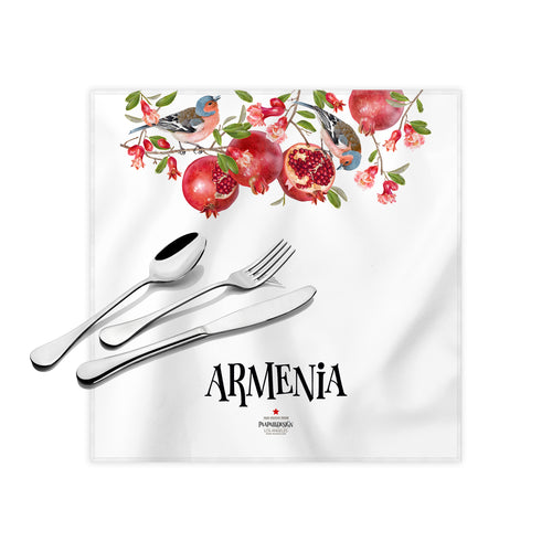 Armenian Paradise Cloth Dinner Napkins, 17