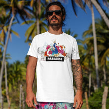 Load image into Gallery viewer, Paradise White T-Shirts