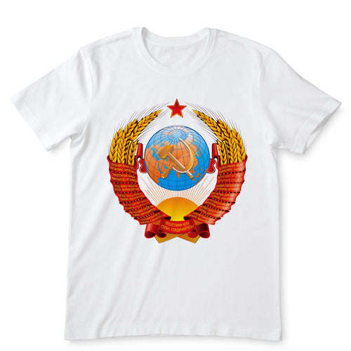 USSR White T-Shirts
