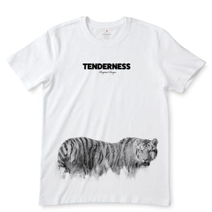 Tiger  White T-Shirts