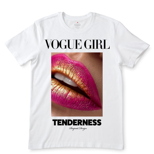 Vogue Girl White T-Shirts