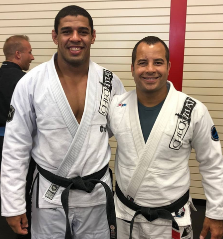 Matheus Felip Tadanado with Check Mat Leo Vieira