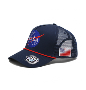 NASA MEATBALL TRUCKER HAT