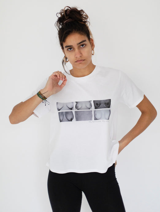 Luna Goddess Cropped Tee