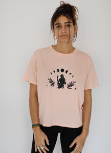 Luna Goddess Pale Pink T-Shirt