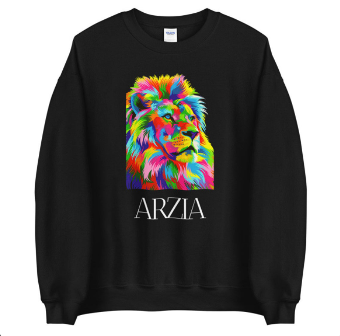 ARZIA x Ginni's World -  Lion Sweatshirt (Unisex)